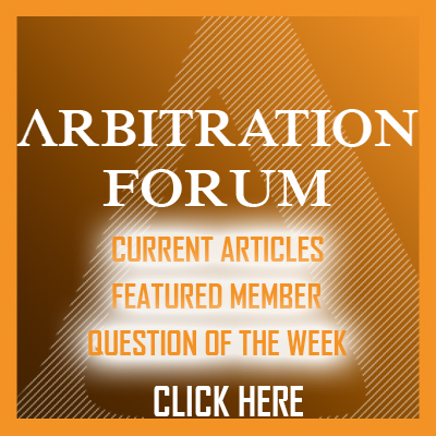 Arbitration Matters. Find out why.